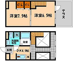 アクア[2階]の間取り