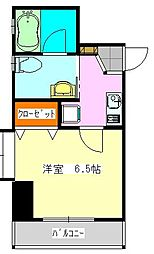 Camus FUNABASHI[2階]の間取り