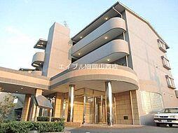 岡山県岡山市北区富田の賃貸マンションの外観