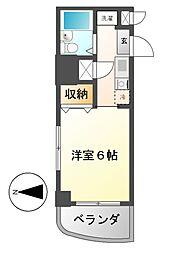 ホワイトヒルズ東桜[3階]の間取り