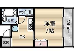 プリマヴェーラ1[2階]の間取り