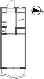 ユーコート代田橋[1階]の間取り