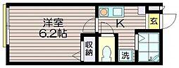 クルッスK[103号室]の間取り