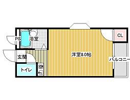 カーサ・イデアーレ2[3階]の間取り
