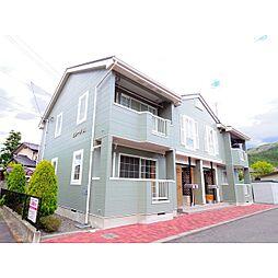 長野県松本市浅間温泉1の賃貸アパートの外観