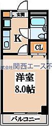 ラーク浜田ビル[5階]の間取り