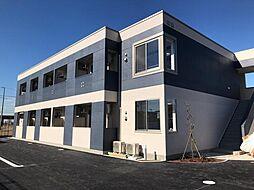 袖ケ浦市奈良輪2丁目新築アパート[2階]の外観