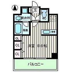S-RESIDENCE福島Luxe[2階]の間取り
