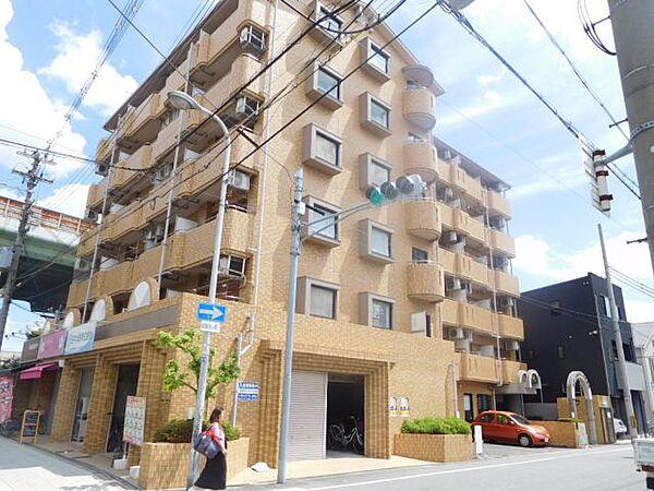 大阪府大阪市平野区平野西6丁目の賃貸マンションの外観