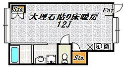 ストーンルネッサンス[1階]の間取り