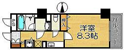 セントラル堺東[7階]の間取り
