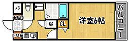 兵庫県神戸市西区池上1丁目の賃貸マンションの間取り