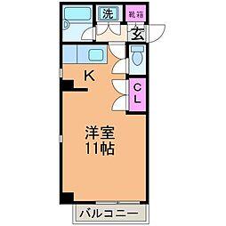 愛媛県松山市湊町7丁目の賃貸マンションの間取り