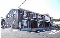 宮崎県宮崎市新別府町の賃貸アパートの外観