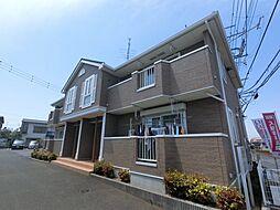 千葉県八街市八街にの賃貸アパートの外観