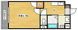 ドリームハウスIII[1階]の間取り