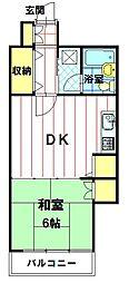 NKコーポ[4階]の間取り