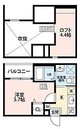 レガーロ 中小田井(レガーロナカオタイ)[1階]の間取り