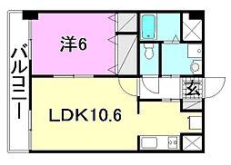 M・ジュピタ[305 号室号室]の間取り