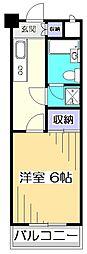 プレイリーハイムII[2階]の間取り