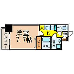 プレサンス栄ブリオ[2階]の間取り