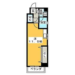 CHARME FUJIMI[5階]の間取り
