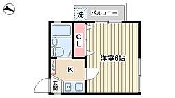 洗足駅 5.9万円