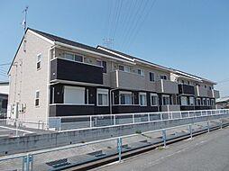 群馬県高崎市北原町の賃貸アパートの外観