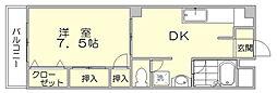 第5よしみビル[6階]の間取り