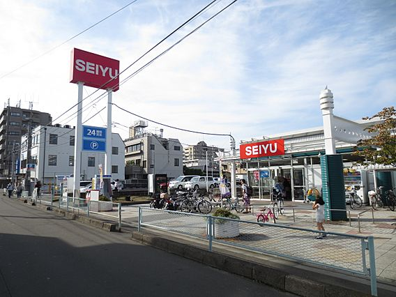 西友木町店まで...