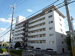 狭山ハウス1号棟[4階]の外観