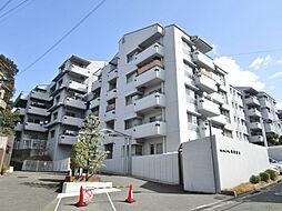 グリーンタウン東香里マンション A棟[4階]の外観