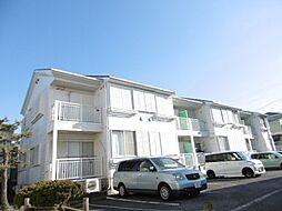 神奈川県茅ヶ崎市浜竹4丁目の賃貸アパートの外観