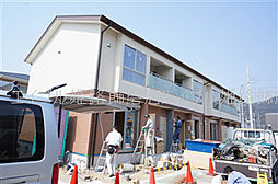 兵庫県姫路市大津区西土井の賃貸アパートの外観