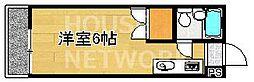 アクティ上賀茂[A206号室号室]の間取り