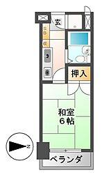 CASA NOAH名古屋1[5階]の間取り