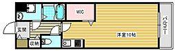 ラカーサ西加賀屋[305号室]の間取り
