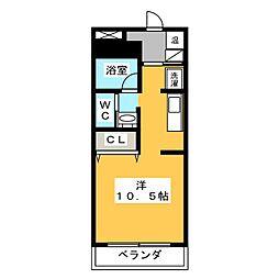 CUBE・19[2階]の間取り