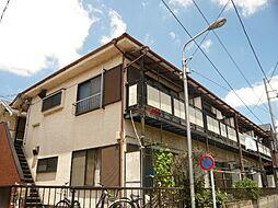 東京都江戸川区北葛西5丁目の賃貸アパートの外観