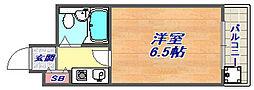 兵庫県神戸市灘区岩屋中町4丁目の賃貸マンションの間取り