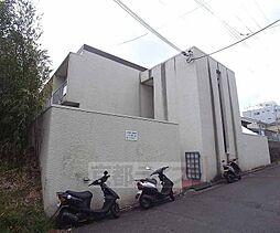 京都府京都市北区紫竹上ノ岸町の賃貸マンションの外観