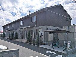滋賀県近江八幡市加茂町の賃貸アパートの外観