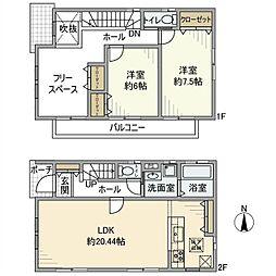 [一戸建] 埼玉県さいたま市桜区大字大久保領家 の賃貸【/】の間取り