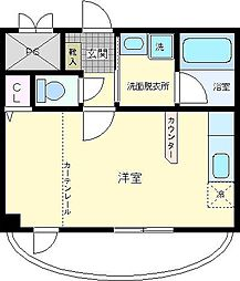 マンションルビーII[2階]の間取り