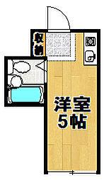 昭和グランドハイツ西九条[4階]の間取り