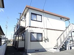 静岡県磐田市竜洋中島の賃貸アパートの外観