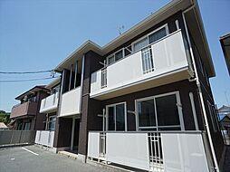 静岡県浜松市中区和合町の賃貸アパートの外観