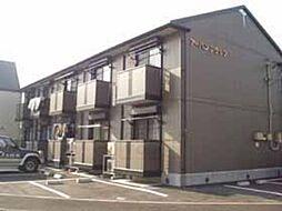 群馬県高崎市新後閑町の賃貸アパートの外観
