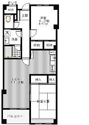 塚本アパートメント[0103号室]の間取り
