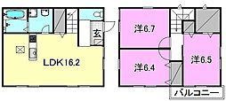 [一戸建] 愛媛県松山市愛光町 の賃貸【愛媛県 / 松山市】の間取り